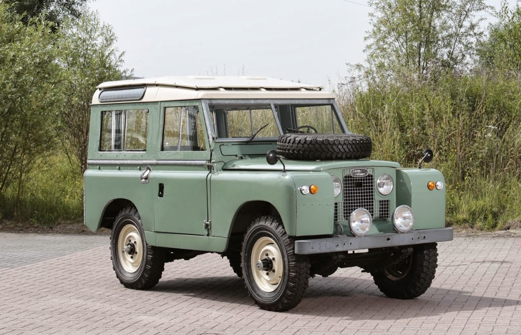 HOW TO IDENTIFY SERIES LAND ROVERS