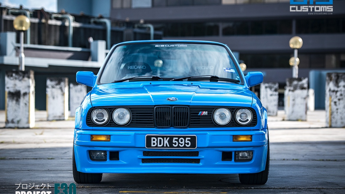 PROJECT E30 – A BMW Modern Classic – FOR SALE
