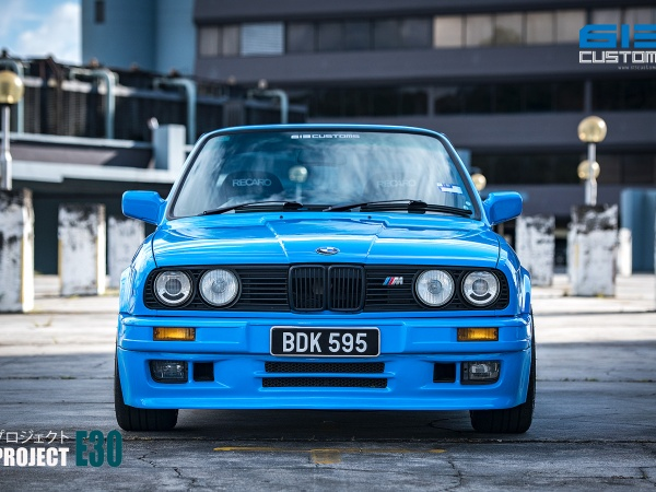PROJECT E30 – A BMW Modern Classic