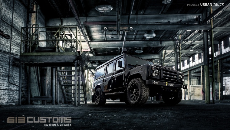 Project  110U- Urban Motion Art Defender XS 110 Wagon