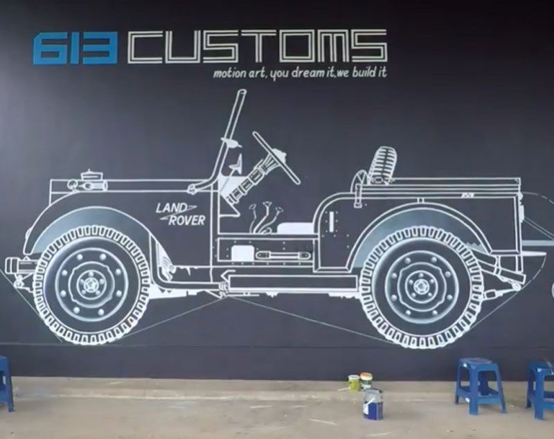 OUR WORKSHOP MURAL