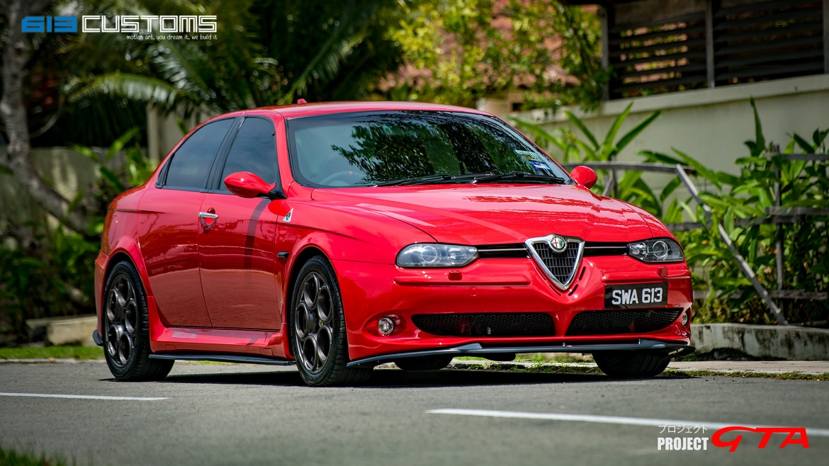 PROJECT ALFA ROMEO 156 GTA