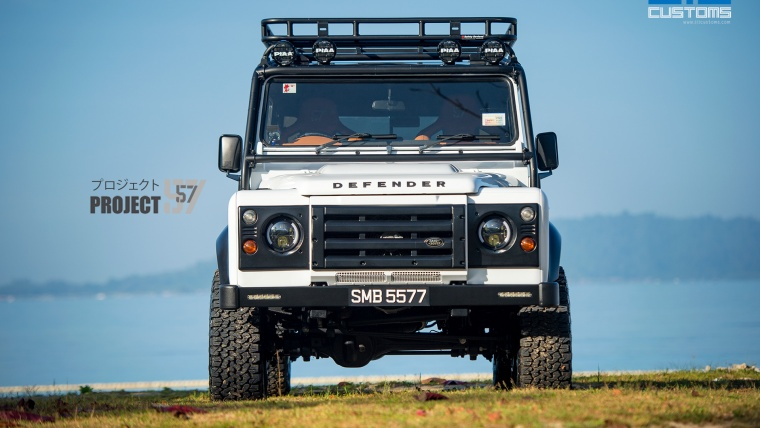 PROJECT 57 –  Bespoke Land Rover Defender PUMA 110 DCPU